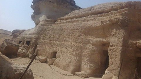 SECOND SPHINX AT GIZA PLATEAU?